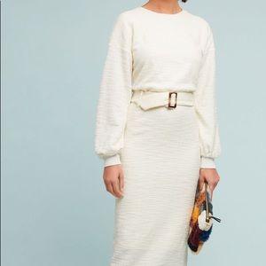 Anthropologie Dolan Jacqueline Belted Dress Sz S